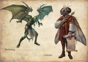 Bestiary 3 monsters by DevBurmak
