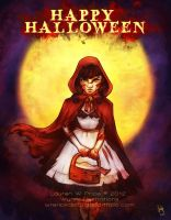 Red Riding Hood Halloween 2012 by Wynta-Illustrations