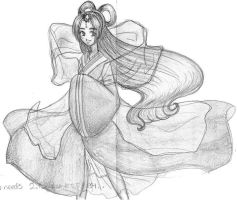 goddess in the wind by karynironsides