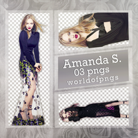 Pack Png 231 - Amanda Seyfried by worldofpngs