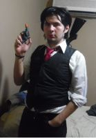 Sebastian Castellanos-The Evil Within Cosplay. by brandonale