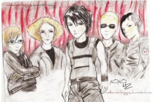My Chemical Romance - Arteest by motherwardesigns