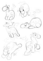Numel sketches by Turtle-Arts