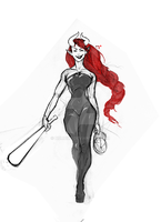 W.I.P. Succubus by Numbird
