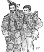 S.T.A.L.K.E.R. Duo Redux by thefirewarriors