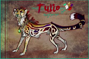 Tulio Ref commission and design by Technicolorized