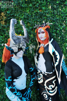Two Forms by CosplayCousins