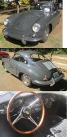 64 Porsche 356c by zypherion