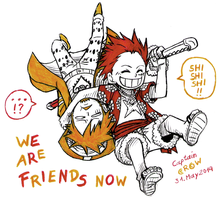 We are friends now by Captain--Ruffy