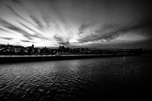 Maas City view BW by icmb94