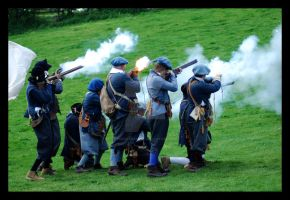 Musket Fire IV. by purgatoryboy