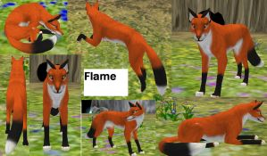Flame by coldfang22