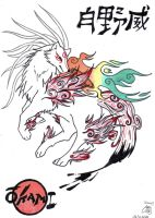 Shiranui Okami by GlwadysChan
