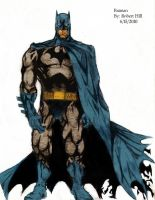The Batman III colored by Panther10