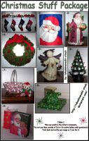 Christmas Stuff Package by takuminanashi-stock
