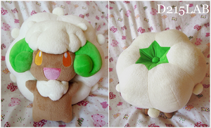 Whimsicott Plush by d215lab