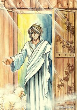 Jesus - The Holy Door by Dark-kanita