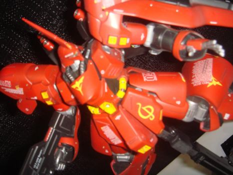 Sazabi  Figure AX by spinaroundthecat
