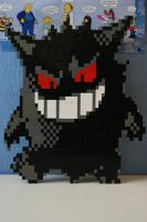 LEGO Gengar by ProfMadness