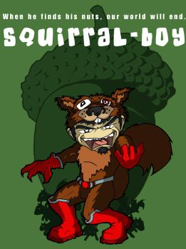The ever lovin Squirral Boy by happymonkeyshoes
