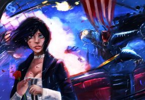 Bioshock Infinite by YETI000