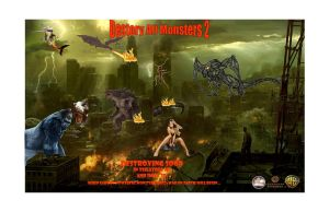 Destroy All Monsters 2 by Justiceavenger