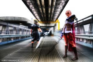 Clash on the Big Bridge by adaman77