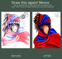 Meme Before and After prince of persia by ShadeHellsing
