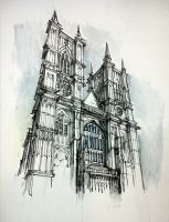 Westminster abbey by PinGponG83