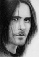 Jared Leto pencil drawing #2 by LivieSukma