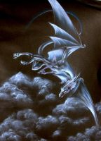 Silver Dragon by Hareguizer