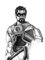 Gordon Freeman - Half Life by carlibux
