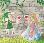 A Link between Valentines by PitchBlackEspresso