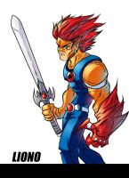 liono colored by kross29