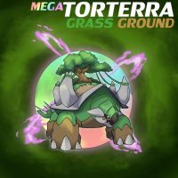 Mega Torterra by ShinyGazza