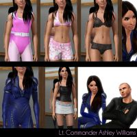 Ashley Williams ensemble by Frigidchick