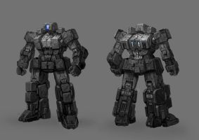 Assault Mecha by rickyryan