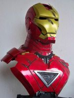 scale bust iron-man by Eddie2B