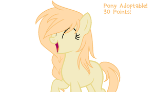 Pony Adoptable no.4 (30 points!) OPEN by DerpyLuv123