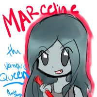 Marceline the vampire queen by amuletshugo
