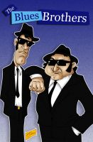 Blues Brothers by Bruno-Sathler