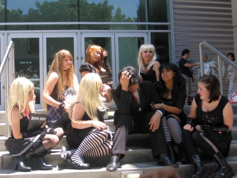 Misa and Matsuda at AX 2009 by Princesses-of-Heart