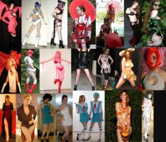 Costumes and more costumes by SickStarr