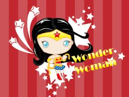 wonder woman cute final by mictlantectli