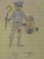 Sly Cooper With Money by SlyCooperRocks101