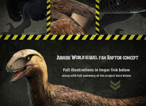 Jurassic World Sequel Fan-Made ConceptArt by FredtheDinosaurman