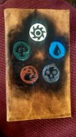 Magic the Gathering Mana Symbols Journal by MaiseDesigns
