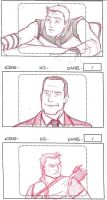 Phil/Coulson Sketches by UrsulaCunningham