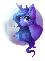 Luna [Collab] by littleSpiritRose
