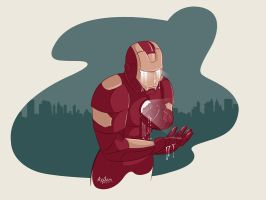 Ironman illustration by snikers15
